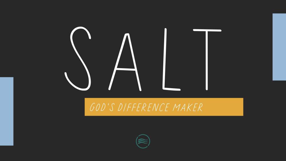 Salt : God's Difference Maker