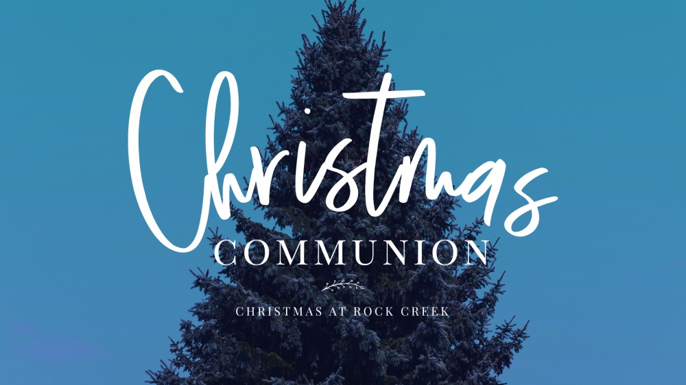 Christmas Communion